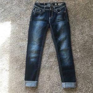 Miss Me Embellished Skinny Jeans JW5690S2
